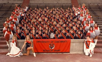 The 1988-89 Marching Band, Majorettes and Bearkittens
