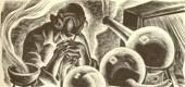 Frankenstein's lab by Lynd Ward