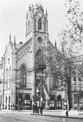 The church on the corner of 12th and Elm in Over-the-Rhine, 1916