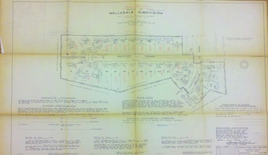 Plat Map of Hollydale