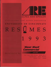 Resumes 1993