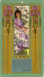 May 1905 Calendar Card