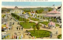 Postcard Showing Cincinnati's Coney Island