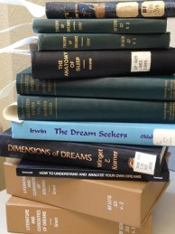 A Stack of Books about Dreams