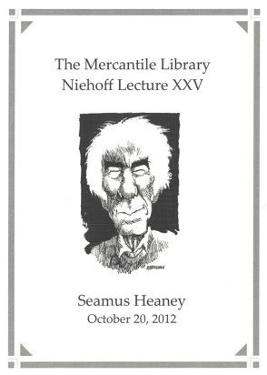 Program for Heaney lecture