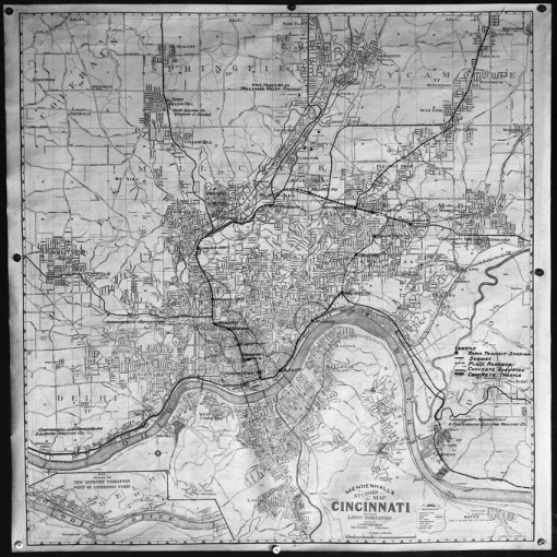Map of Cincinnati