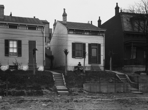 Houses along Moreland Street