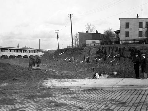 Moreland Street Construction