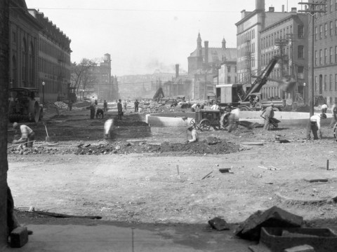 Construction on Genessee Street