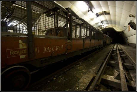 Abandoned London Mail Train