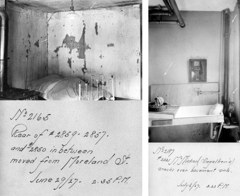 Home Interiors showing damage