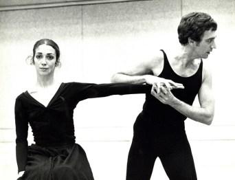 David Blackburn at a rehearsal of Salome