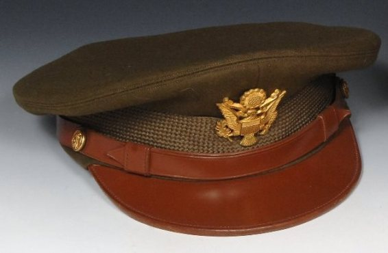 Officer's World War II service cap of Hobart Mikesell, MD UC College of Medicine, Class of 1925 Gift of Jane Younkman