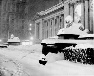 New_york_public_library_1948 snowstorm.....might be of use