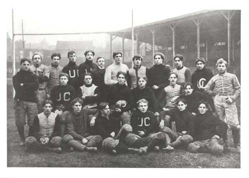 UC Football Team 1895