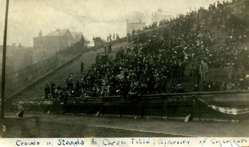 The stands at Carson Field