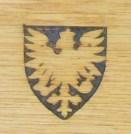 Medieval-heraldic Engraving