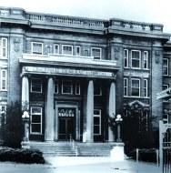 General Hospital Admin & HS Library Entrance_Burnett Ave. 1