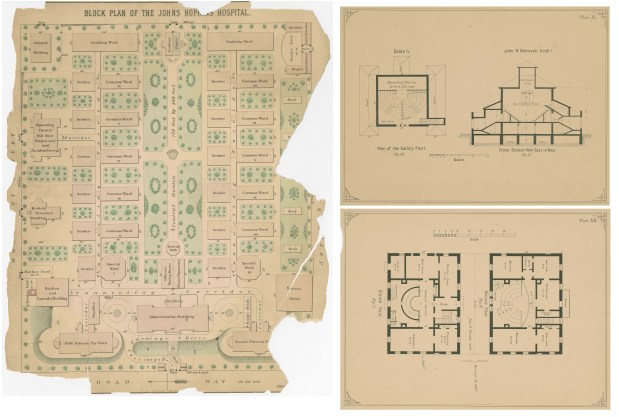 Johns Hopkins Hospital Architectural Plans