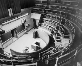 Mid-20th century 'Surgical Amphitheater.'