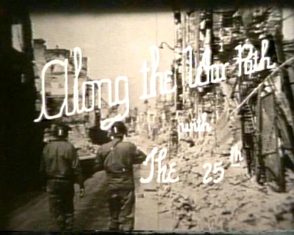 Along the Warpath Title Screen
