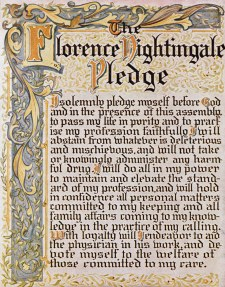Florence Nightingale Nursing Pledge