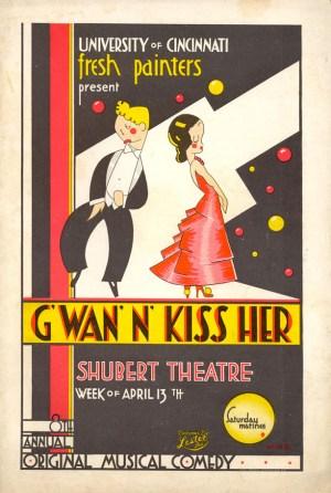 Gwan N Kiss Her Program Cover