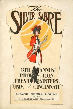 Silver Sabre - Program Cover