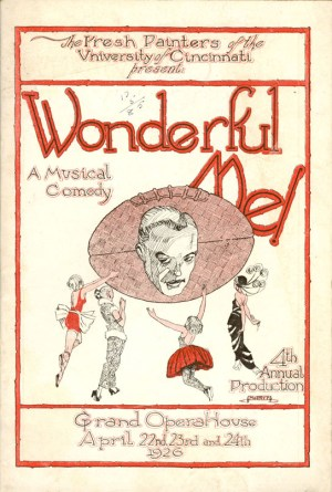 Wonderful Me - Cover of Program