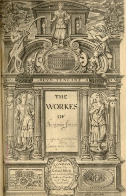 The Works of Benjamin Johson, title page