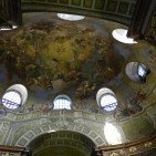 Ceiling art in the Austrian National Library