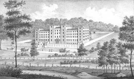 The Cinicnnati House of Refuge in 1856