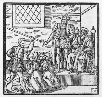 North Berkwick Witches tried before King James