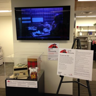 Library display and sign