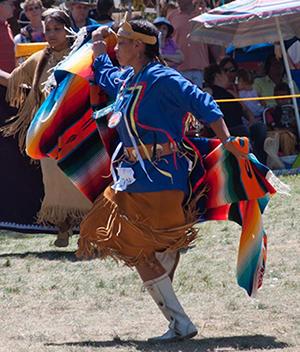 Mashpee Wampanoag Indian Powwow, Mashpee, Massachusetts, July 2010. Courtesy National Library of Medicine/Bryant Pegram