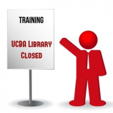 Closed for training graphic