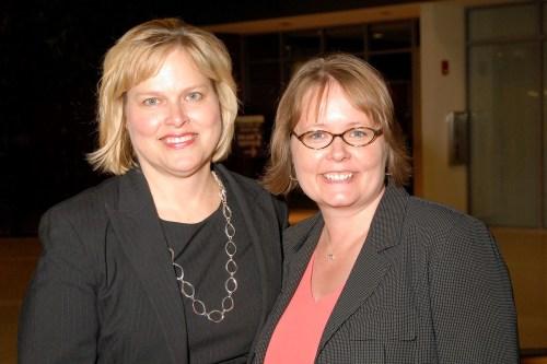 Leslie Schick and Melissa Cox Norris