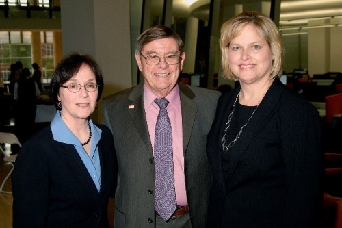 Vicki Montavon, Donald C. Harrison and Leslie Schick