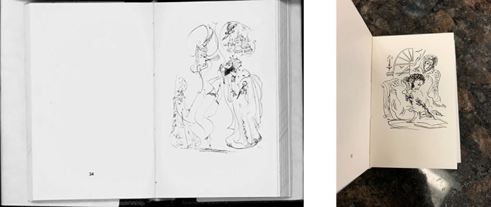 Drawings from Elena Shipitsova's book of drawings