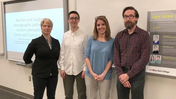 Faculty Lighting Talk presenters