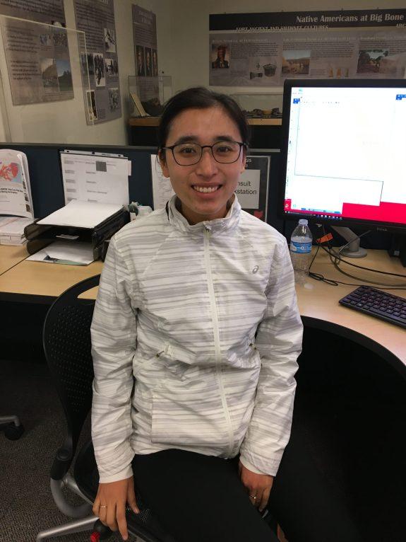 Zhiyuan Yao in the Data & GIS Collab