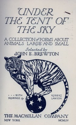 Under the Tent of the Sky Title Page