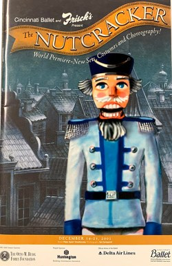 Nutcracker Program from 2001-2002 season