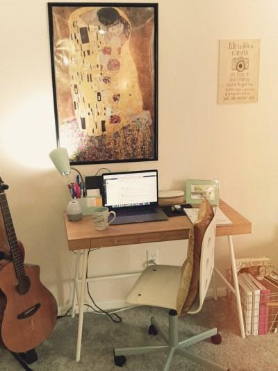 Bre's desk