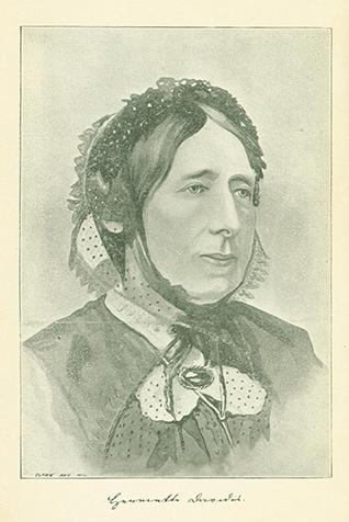 Drawing of Henriette Davidis, no date