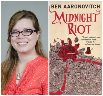 Kellie Tilton and cover of Midnight Riot