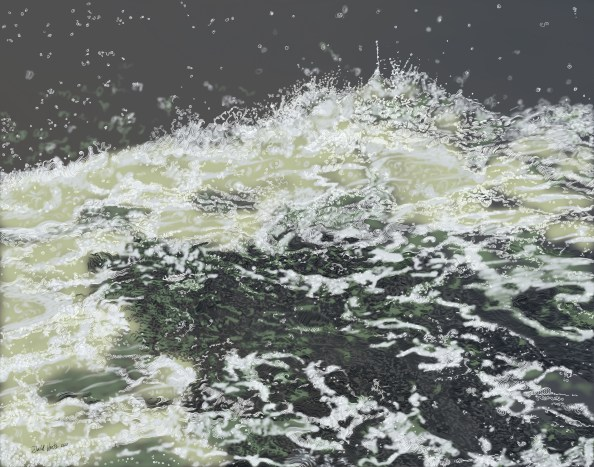 Drawing Water series, overall view