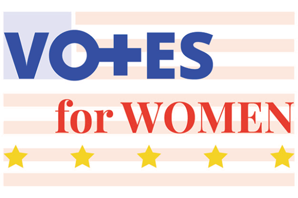 votes for women graphic