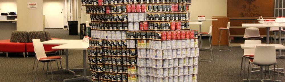 bearcat canned sculpture