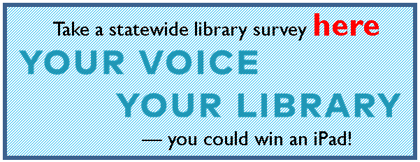 Your Voice Your Library button
